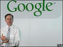 Google chief executive Eric Schmidt