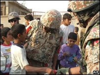 Iraqi interpreter with Danish forces in Basra. File pic.