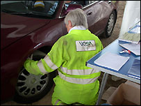 Roadside check