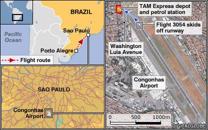 BBC NEWS Americas Calls for Brazil airport to close