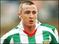 Cork City's Roy O'Donovan