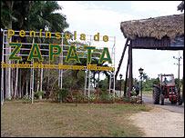 Ci�naga de Zapata. Foto: Raquel Perez