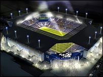 Everton's proposed new ground will hold 50,000 fans