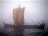 Sea Stallion shrouded by mist (Image: BBC)