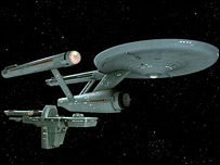 USS Enterprise. Pic courtesy of startrek.com