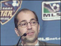 MLS deputy commissioner Ivan Gazidis