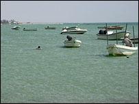 شاطئ قرية المالكية في البحرين