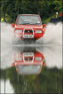 Flooding in Barry