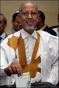 الرئيس الموريتاني سيدي ولد الشيخ عبد الله