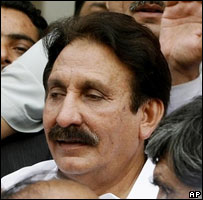 Pakistan's Chief Justice Iftikhar Chaudhry 20/07