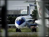 Danish aircraft carrying Iraqi evacuees