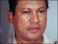 Manuel Noriega, pictured in 1996