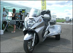 Photo of the Silverwing trike