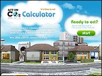 Defra's CO2 calculator (Image: Defra)