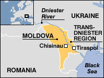 Trans-Dniester map