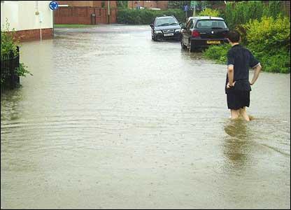 Cheltenham flooding