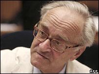 French UN Ambassador Jean-Marc de la Sabliere