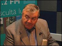 Mircea Snegur, President of Moldova in 1992