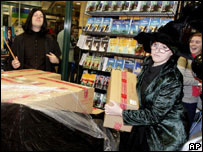 Sydney bookstore staff unpack the latest Harry Potter book