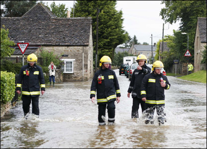 Emergency services in Crudwell
