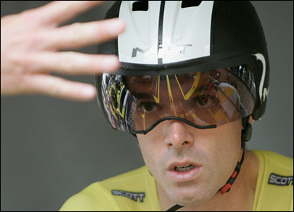 David Millar prepares to start 