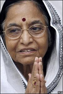Pratibha Patil, presidenta india