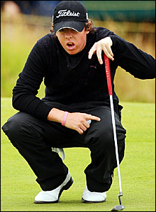 Northern Ireland amateur Rory McIlroy