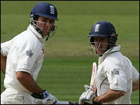 Michael Vaughan and Andrew Strauss
