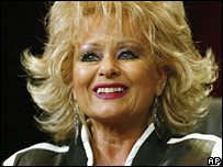 Tammy Faye Messner in 2005 file pic