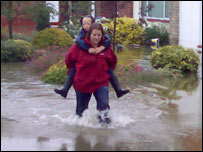 Flooding in Warwickshire