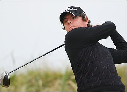 Eighteen-year-old Rory McIlroy won many admirers at Carnoustie