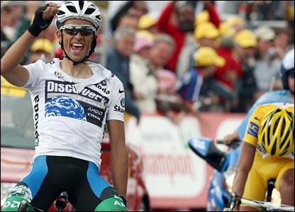 Contador wins stage 14