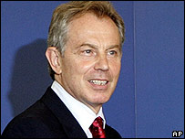 Tony Blair. File photo