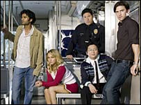 Cast members from Heroes
