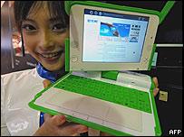 Las computadoras para niños que desarrolla OLPC
