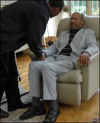 CUD leader Hailu Shawel after his release