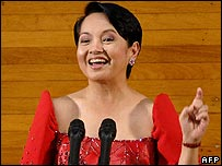 Philippine President Gloria Arroyo delivers her state of the nation address - 23/07/07