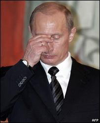Президент России Владимир Путин на богослужении
