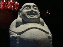 Fat Buddha statues