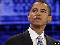 Barak Obama en el debate de YouTube