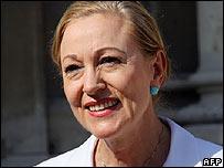 EU External Affairs Commissioner Benita Ferrero-Waldner
