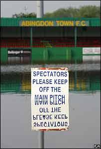 Abingdon Town FC in Abingdon