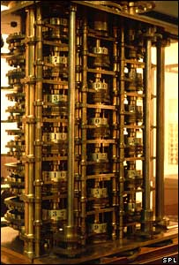 Remains of Babbage's difference engine (ADAM HART-DAVIS / SCIENCE PHOTO LIBRARY)