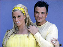 Jordan and Peter Andre
