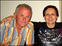 Zdravko Georgiev with his wife Kristina Valcheva in Libya (photo: Dr Georgiev)