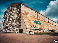 Cardington Number One airship hangar, Bedfordshire