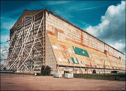 Cardington Number One Airship Shed, Bedford