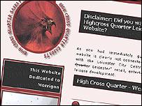 Highcross Quarter website