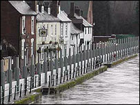 Bewdley flood defences
