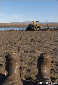 Muddy boots (Image: Jim McNeill)